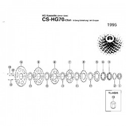 Koronka Kasety 18Z Hg70-8