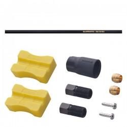 Przewód Olejowy 1000mm Czarny