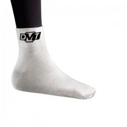 Skarpety DMT białe z czarnym logo roz.43-48