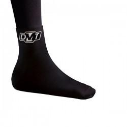 Skarpety DMT czarne z białym logo roz.37-42