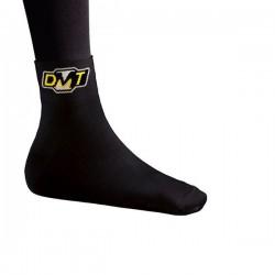 Skarpety DMT czarne z żółtym logo roz.37-42