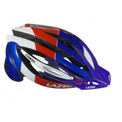 Kask mtb LAZER GENESIS XC BIG blue red white 58-61cm rolsys W