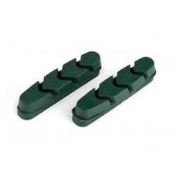 Wkładki hamulcowe CLARK'S CP221 SZOSA Shimano, Campagnolo, Do obręczy ceramicznych 52mm zielone