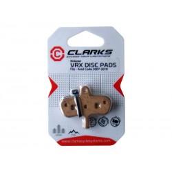 Okładziny hamulcowe CLARK'S AVID Code metaliczne spiekane
