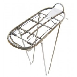 """Bagażnik aluminiowy ATRANVELO FLY 24""""-28"""" uniwersalny srebrny"""