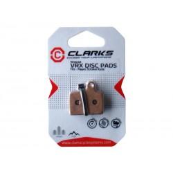 Okładziny hamulcowe CLARK'S HAYES Stroker, Carbon Trail metaliczne spiekane