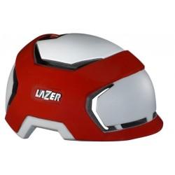 Kask miejski LAZER KRUX RADICAL M white red 53-58 cm
