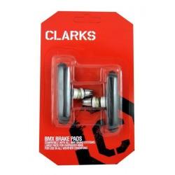 Klocki hamulcowe CLARK'S CP601 BMX V-brake, Warunki Suche czarne