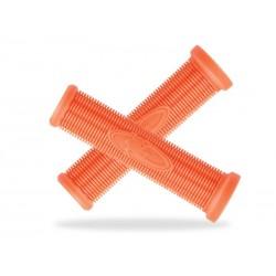 Chwyty kierownicy LIZARDSKINS CHARGER SC 130mm pomarańczowe