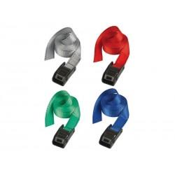 Taśma mocująca MASTERLOCK LASHING STRAPS 3010 25mm-2,50m zestaw 2szt mix kolorów