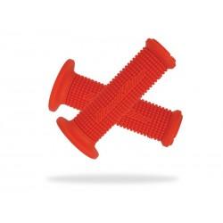 Chwyty kierownicy LIZARDSKINS MINI MACHINE SC 105mm czerwone