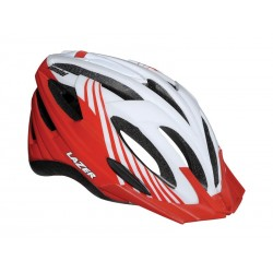 Kask mtb LAZER VANDAL ML white red 54-61 cm