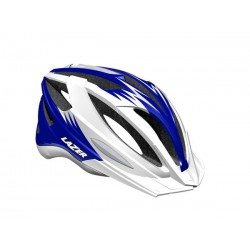 Kask mtb LAZER CLASH ML white blue 54-61 cm