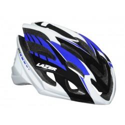 Kask szosa LAZER SPHERE L white black blue 58-61 cm
