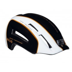 Kask miejski LAZER URBANIZE L black white orange 58-61 cm