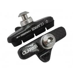 Klocki hamulcowe CLARK'S CPS462 SZOSA Shimano, Campagnolo, Obudowa Karbonowa, Ultra lekkie 55mm