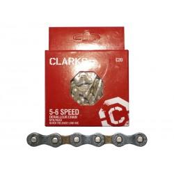 """Łańcuch rowerowy CLARK'S YBN C20 SHIMANO SRAM 5-6 Biegów, CP 12""""x332"""", dł.116ogniw, szer.7.8mm,"""