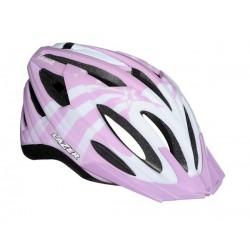 Kask juniorski LAZER SKOOT M pink white 50-57 cm