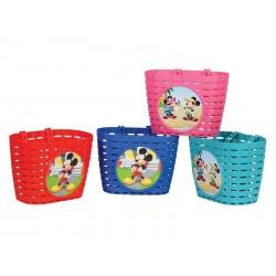 Koszyk na kierownice WIDEK MICKEY MOUSE plastikowy mix kolorów pudełko 4szt.