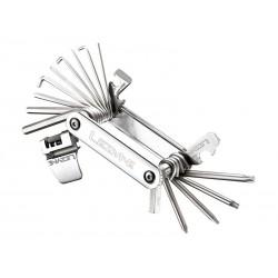 Kluczyk podręczny LEZYNE BLOX-23, 23 klucze srebrny