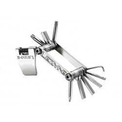 Kluczyk podręczny LEZYNE SV-10, 10 kluczy srebrny