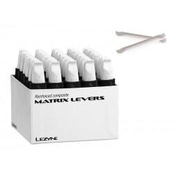 Łyżki do opon LEZYNE MATRIX LEVEL BOX pudełko 30 x 2szt. białe
