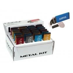 Łatki do dętek zestaw LEZYNE METAL KIT BOX 6xłatki samoprzylepne, tarka, 1xłatka do opony 24szt.