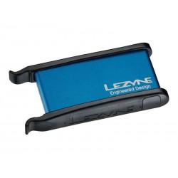 Łatki do dętek LEZYNE LEVER KIT pudełko 2xłyżki, 6xłatki samoprzylepne niebieskie