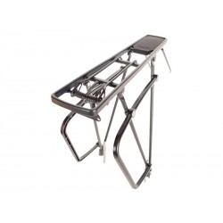 "Bagażnik aluminiowy ATRANVELO ELITE 24""-28"" boki na sakwy czarny"