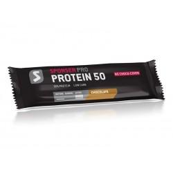 Baton proteinowy SPONSER PROTEIN 50 BAR czekoladowy pudełko 20 szt x 70g