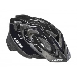Kask juniorski LAZER JUNIOR M fireball black silver 50-57 cm