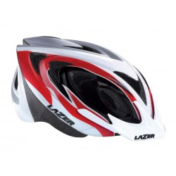 Kask mtb LAZER 2 X3M M red white black 50-56 cm