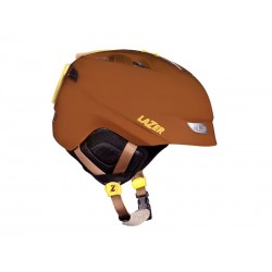 Kask zimowy LAZER EFFECT brown and tan matte L 59-62cm