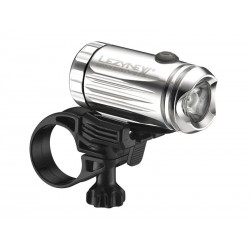 Lampka przednia LEZYNE LED MINI DRIVE XL 250 lumenów, usb srebrna