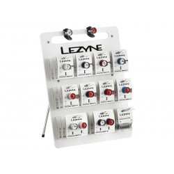 Display lampki LEZYNE LED FEMTO DRIVE 12szt.przód, 12szt.tył, 6szt.zestawy, 4szt.baterie