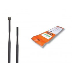 Szprychy CNSPOKE AERO424 2.0-0.92.2-2.0 stal nierdzewna 286mm czarne 36szt.