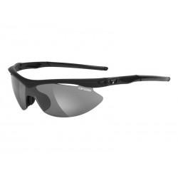 Okulary TIFOSI SLIP matte black 3szkła Smoke 15,4 transmisja światła, AC Red, Clear