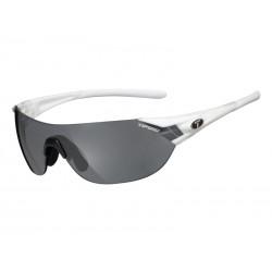 Okulary TIFOSI PODIUM S pearl white 3szkła Smoke 15,4 transmisja światła, AC Red, Clear