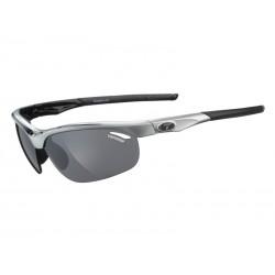 Okulary TIFOSI VELOCE race black 3szkła Smoke 15,4 transmisja światła, AC Red, Clear