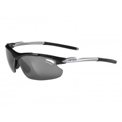 Okulary TIFOSI TYRANT matte black Smoke, AC Red, Clear