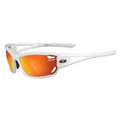 Okulary TIFOSI DOLOMITE 2.0 pearl white 3szkła Smoke Red 15,4 transmisja światła, Smoke Brt.