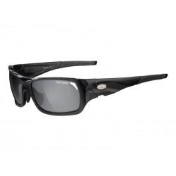 Okulary TIFOSI DURO gloss black 3szkła Smoke 15,4 transmisja światła, AC Red, Clear