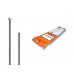 Szprychy CNSPOKE MAC14 2.0-2.0-2.0 stal nierdzewna 274mm srebrne 72szt