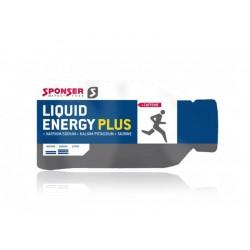 Żel energetyczny SPONSER LIQUID ENERGY PLUS neutralny z kofeiną pudełko 40x40g