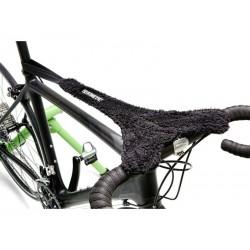 Osłona przeciwpotowa na rower KINETIC czarna