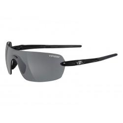 Okulary TIFOSI VOGEL gloss black 1szkło Smoke 15,4 transmisja światła