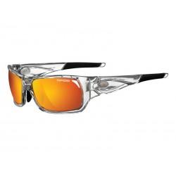 Okulary TIFOSI DURO crystal clear 3szkła Smoke Red 15,4 transmisja światła, Smoke Brt. Blue,