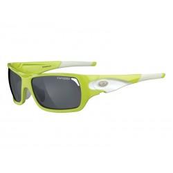 Okulary TIFOSI DURO neon green 3szkła Smoke 15,4 transmisja światła, AC Red, Clear