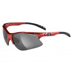 Okulary TIFOSI ROUBAIX metallic red 3szkła Smoke 15,4 transmisja światła, AC Red, Clear