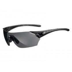 Okulary TIFOSI PODIUM matte black 3szkła Smoke 15,4 transmisja światła, AC Red, Clear
